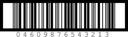 1 Carton Code Barcode Image