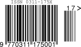 3 ISSN Barcode Images